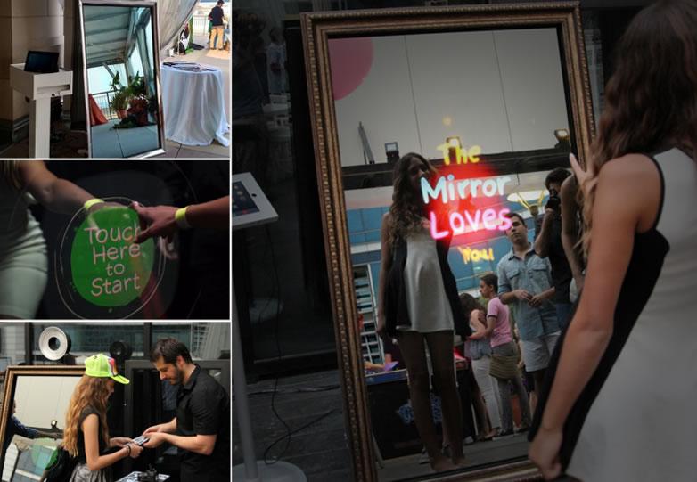 Cabina foto – oglinda